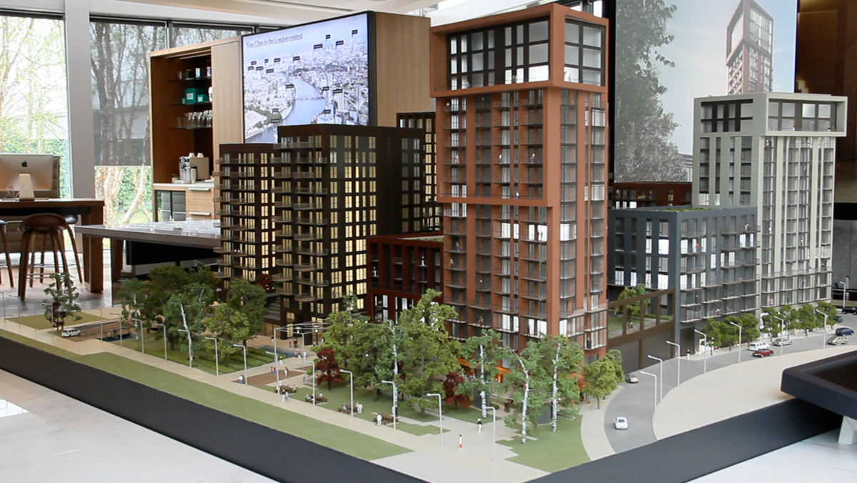 Embassy garden model