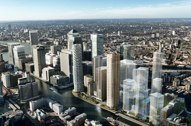 Wood Wharf: A New Development for Canary Wharf Estate Agents
