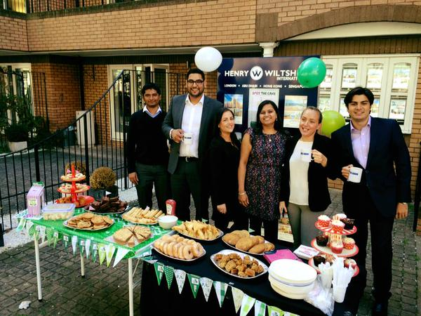 Henry Wiltshire raised over £500 for MacMillan Cancer Support