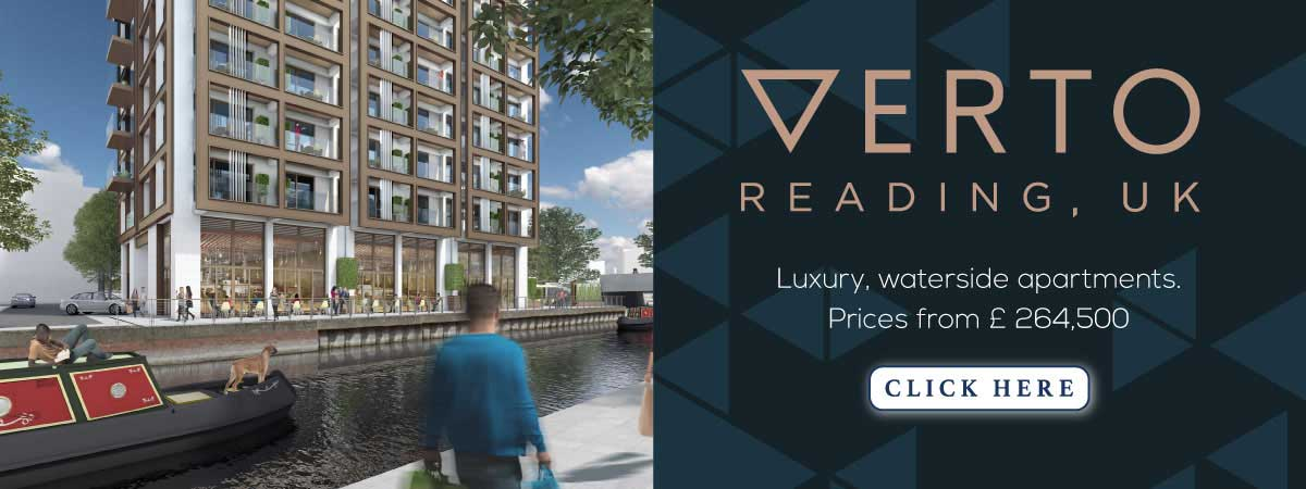 VERTO UK - Luxury waterfront apartments. Prices from £264,500